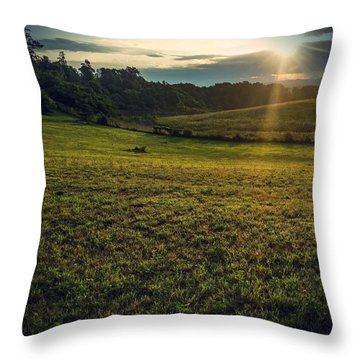 Oh What A Beautiful Morning Throw Pillow