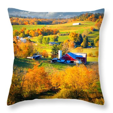 Ohio Amish Country Throw Pillow