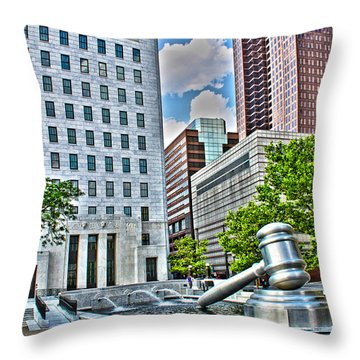 Ohio Supreme Court Throw Pillow