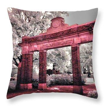 Ohio University Gate To The Green Throw Pillow