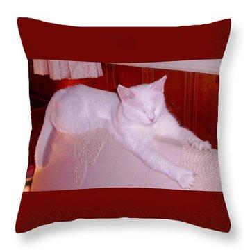 Ohmmmmm Throw Pillow