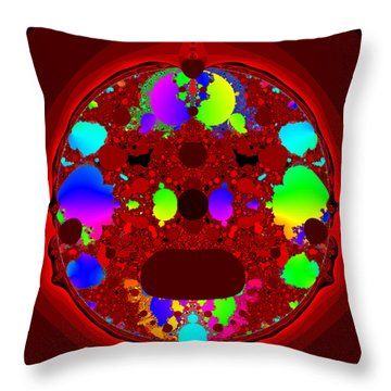 Oidivoclus Throw Pillow