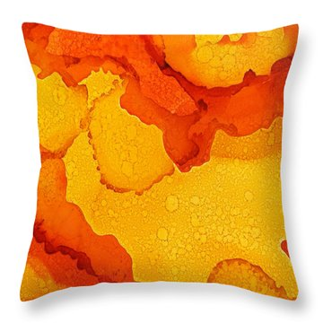 OJ Throw Pillow