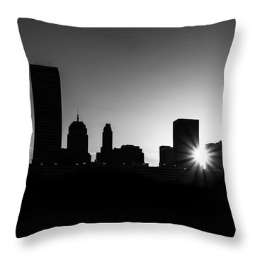 Throw Pillow featuring the photograph Oklahoma City by Betty LaRue