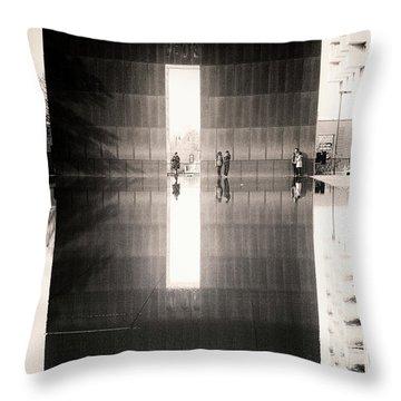 Oklahoma City Memorial Throw Pillow