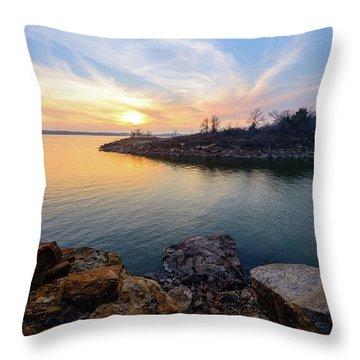 Oklahoma Gold Throw Pillow