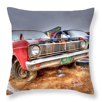 O'l Red Throw Pillow