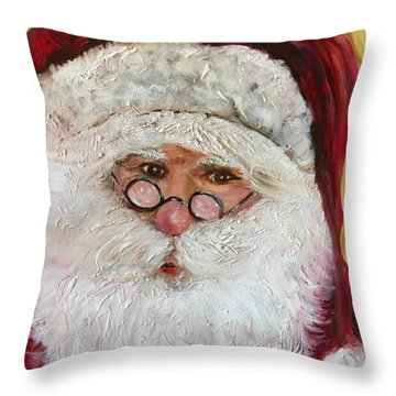 Magical O'l St. Nick Throw Pillow