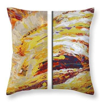 Ola Del Sol Throw Pillow