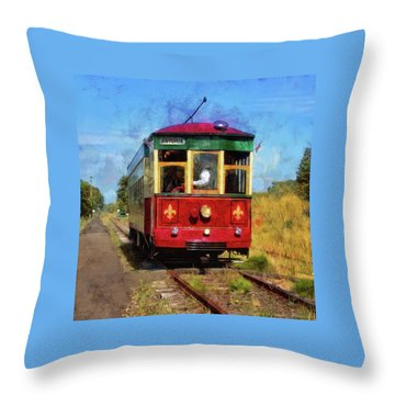 Throw Pillow featuring the photograph Old 300 by Thom Zehrfeld