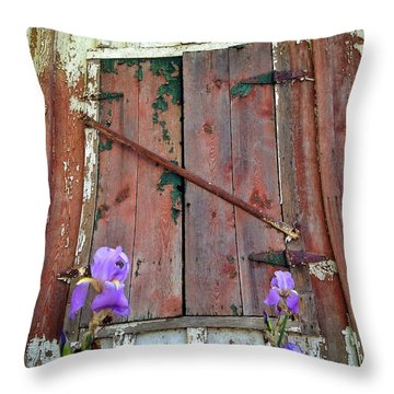 Throw Pillow featuring the photograph Old And New by Olivier Calas