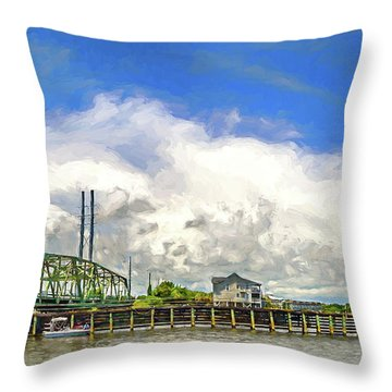 Old And Proud Throw Pillow