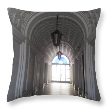 Old Arc In Belgrade Throw Pillow