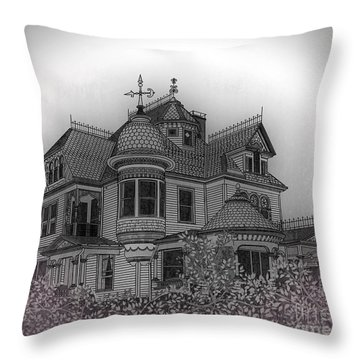 Aristocrat Throw Pillow by Megan Dirsa-DuBois