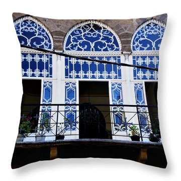 Old Beirut Home  Throw Pillow
