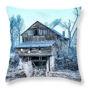 Old Blackiston Mill Throw Pillow
