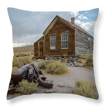 Old Bodie House II Throw Pillow