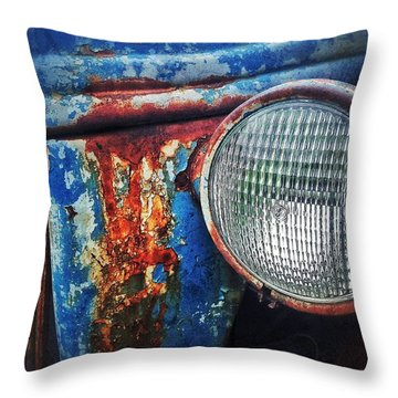 Old Boy Throw Pillow by Olivier Calas