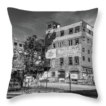 Old Brewery Throw Pillow