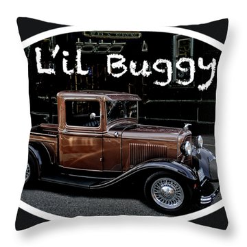 Old Brown Throw Pillow