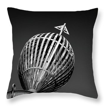 Old Buoy Throw Pillow