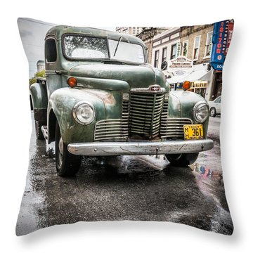 Old But Rolling Throw Pillow