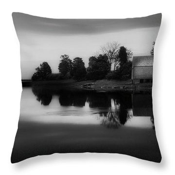 Throw Pillow featuring the photograph Old Cape Cod by Bill Wakeley