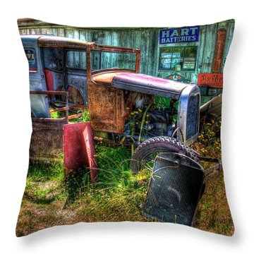 Old Car 3 Throw Pillow