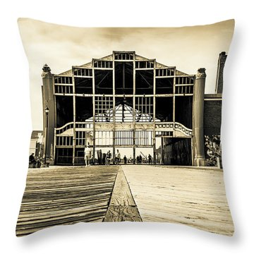 Old Casino Throw Pillow