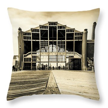 Old Casino Throw Pillow