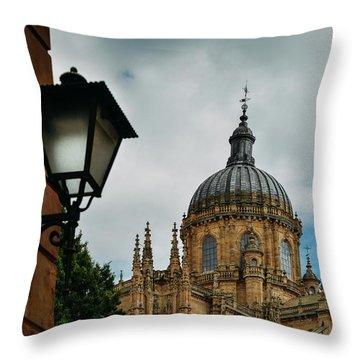 Old Cathedral, Salamanca, Spain  Throw Pillow