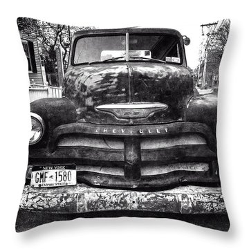Old Chevy 2 Throw Pillow