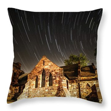 Old Church Throw Pillow