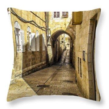 Shabbat Day Of Rest Jerusalem Israel Throw Pillow