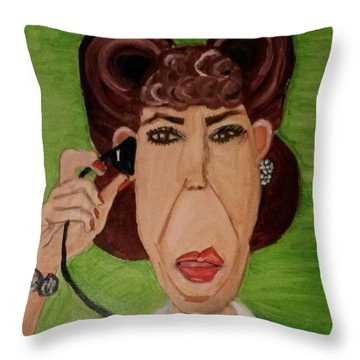 Ol' Ernestien Throw Pillow