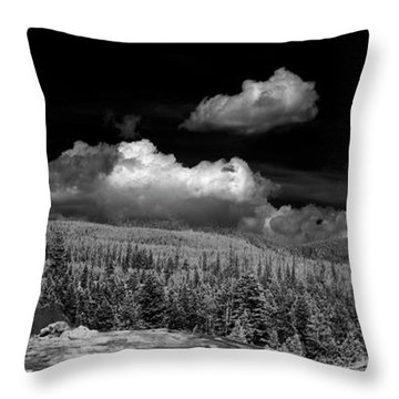 Old Faithful Ir  Throw Pillow