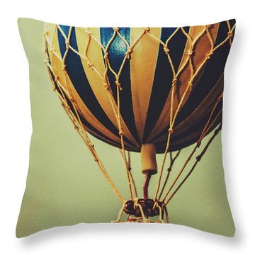 Old-fashioned Exploration Throw Pillow