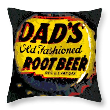 Old Fashioned Throw Pillow