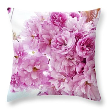 Throw Pillow featuring the photograph Old Fashioned Vintage Charm by Connie Handscomb