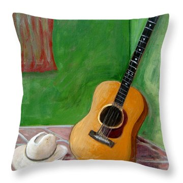 Old Friends Throw Pillow by Laurie Morgan