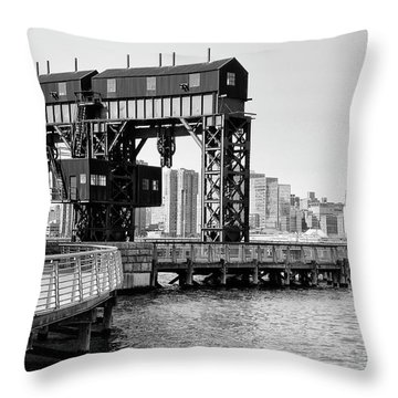 Old Gantry Throw Pillow