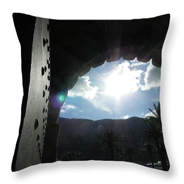 Old Gates Of Europe Throw Pillow