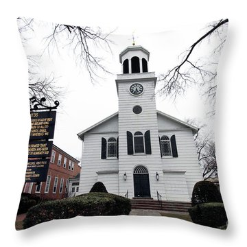 St. Georges Church Episcopal Anglican Throw Pillow