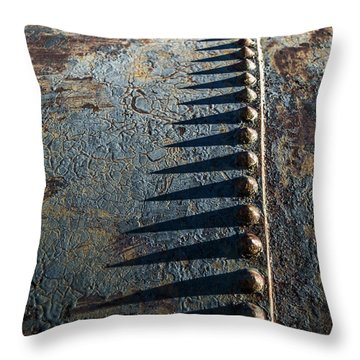 Throw Pillow featuring the photograph Old Grunge by Mary Hone