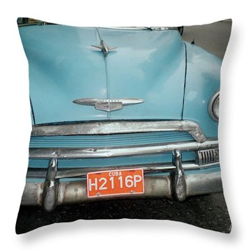 Old Havana Cab Throw Pillow