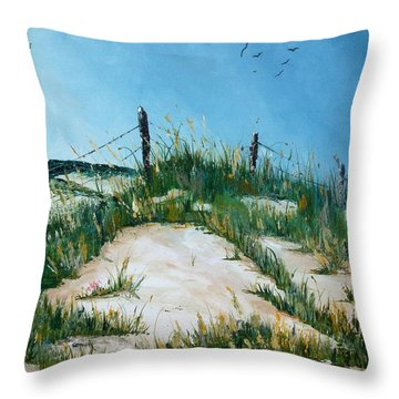 Old Head Of Kinsale Throw Pillow