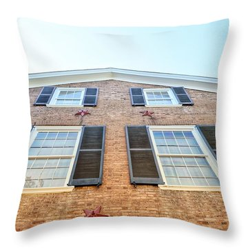 Old Hentucky Home  Throw Pillow