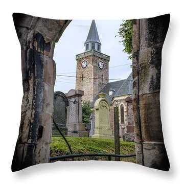 Old High St. Stephen's Church Throw Pillow