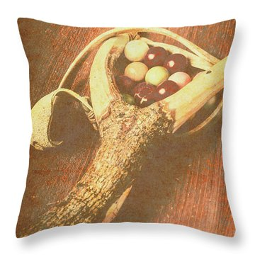 Old Hit Of Confectionery Throw Pillow