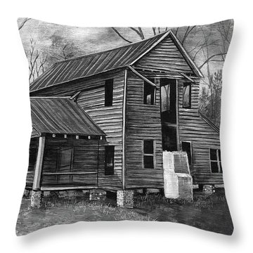 Old House  Throw Pillow
